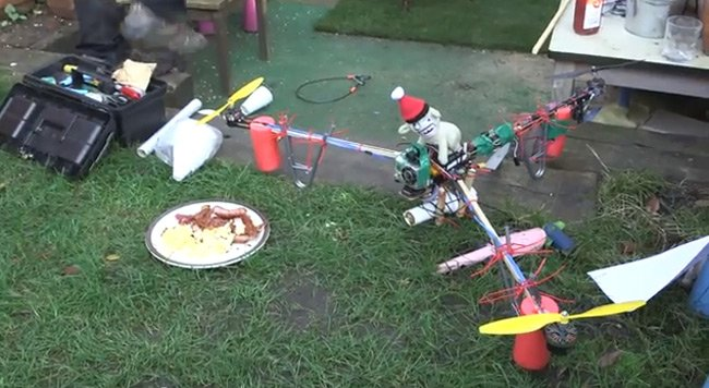 Joel Veitch's Bacon Drone