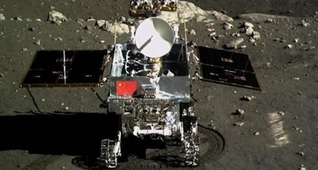 China's Jade Rabbit moon lander