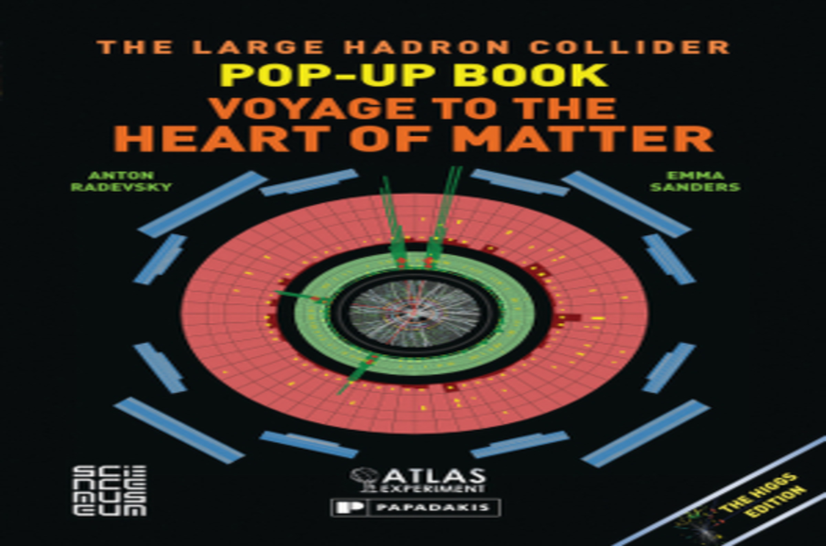Cover Up Book ~ Win your own hadron collider pop up book with el reg the