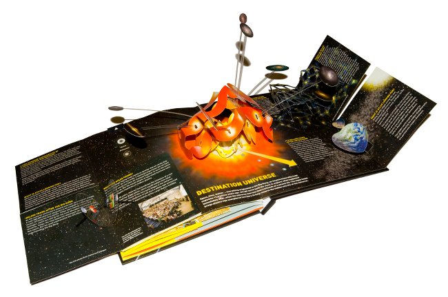 Large Hadron Collider Pop-up Book