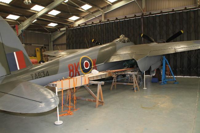 de Havilland Mosquito B Mk.35 TA634 at the de Havilland Museum