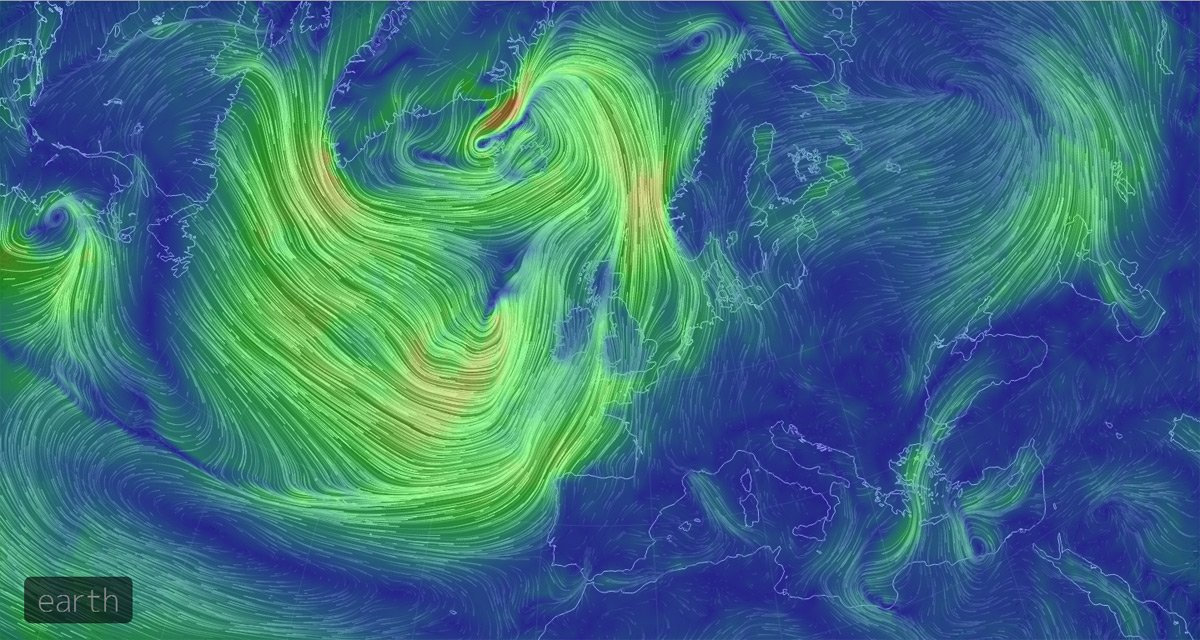 Hypnotic Wind Map Captures Earth S Heavenly Currents The Register