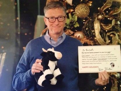 Pic of Bill Gates taken from Reddit