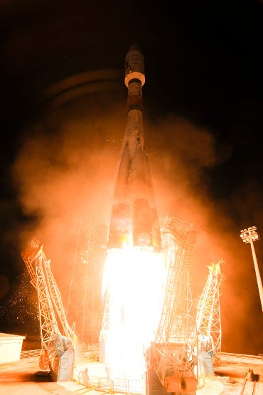 Soyuz VS06 with Gaia space observatory blasts off from Europe's Spaceport
