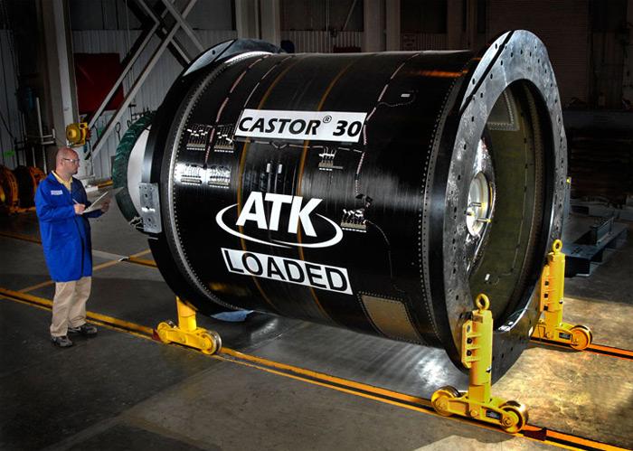 The CASTOR 30 solid rocket motor