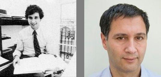 David Karlin - then and now