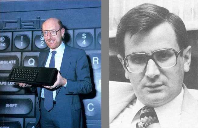 Clive Sinclair and Robb Wilmot