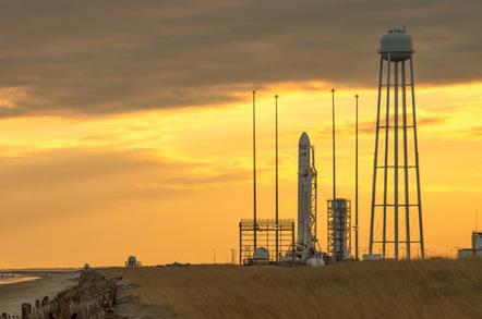 Antares on the launch pad Wallops Flight Facility. Pic: NASA/Bill Ingalls