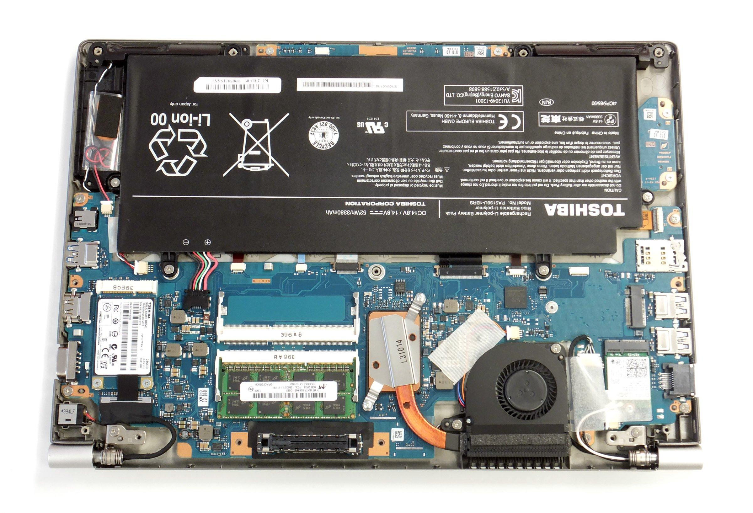 Light Fast And Pricey Toshibas Portege Z30 Now