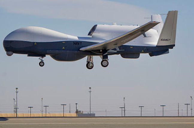 The Triton unmanned aircraft system completes its first flight May 22, 2013
