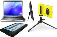 Various devices including phone, laptop and tablet