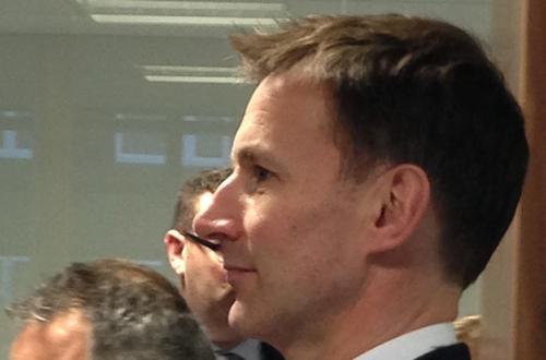 Jeremy Hunt at Aegis One 10 Jan 2014