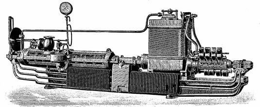 Charles Parsons Compound Steam turbine