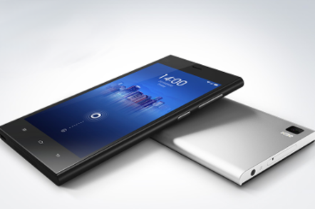 Slick looking picture of  xiaomi's Mi3 Android smartphone