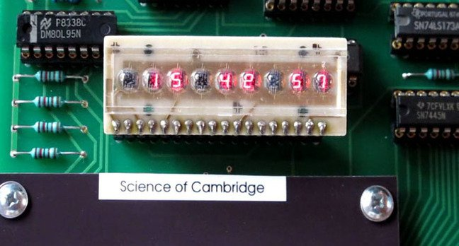 Science of Cambridge MK14 close-up