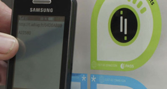 NFC works on trams in Nice