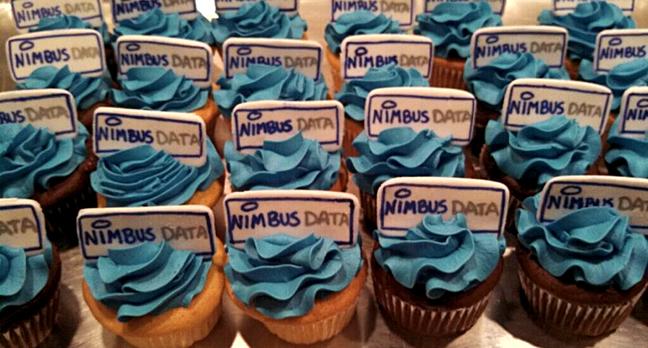 Nimbus Data cup cakes