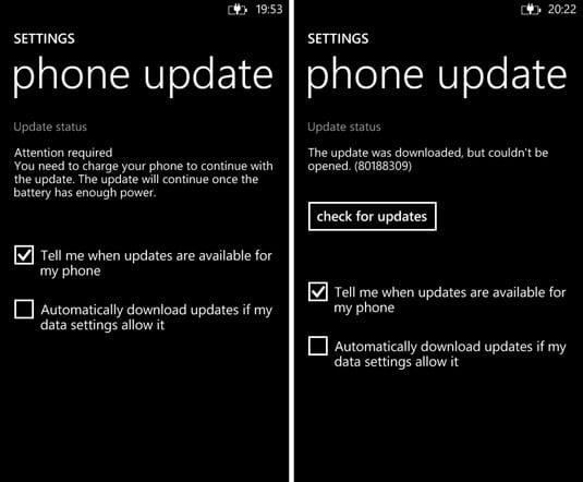 Nokia Black Lumia Windows Phone Update