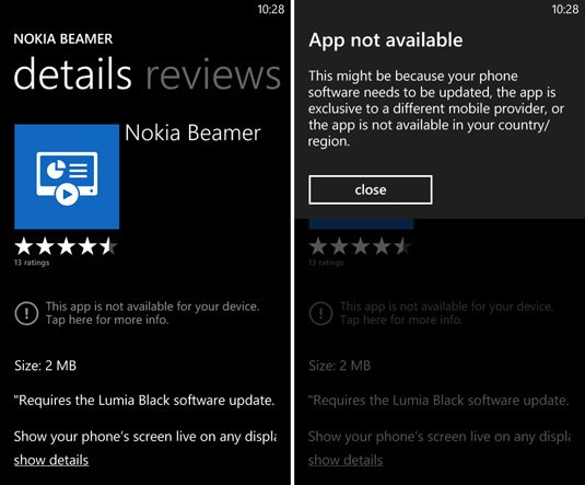 Nokia Black Lumia Windows Phone Update
