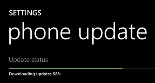 Nokia Lumia Windows Phone Update