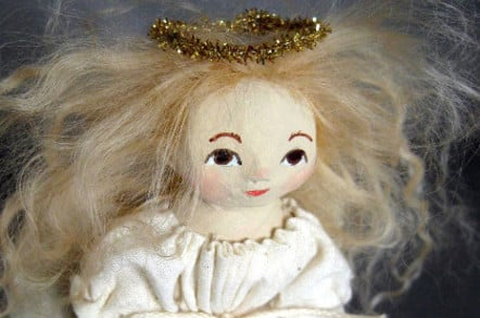Spooky angel doll