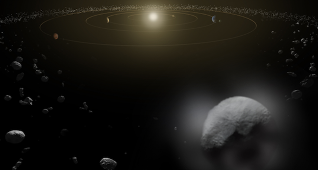 Artist's impression of Ceres
