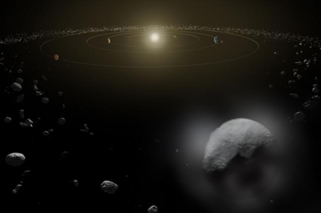 Artist's impression of Ceres