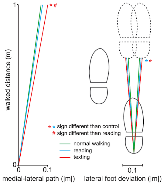 Texting and Walking: Strategies for Postural Control and Implications for Safety