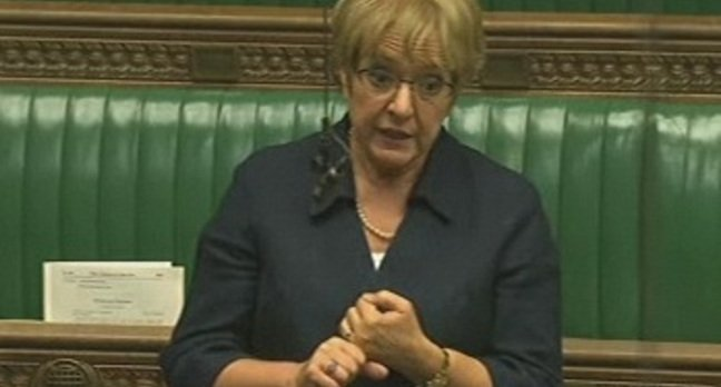 MP Margaret Hodge in the Commons