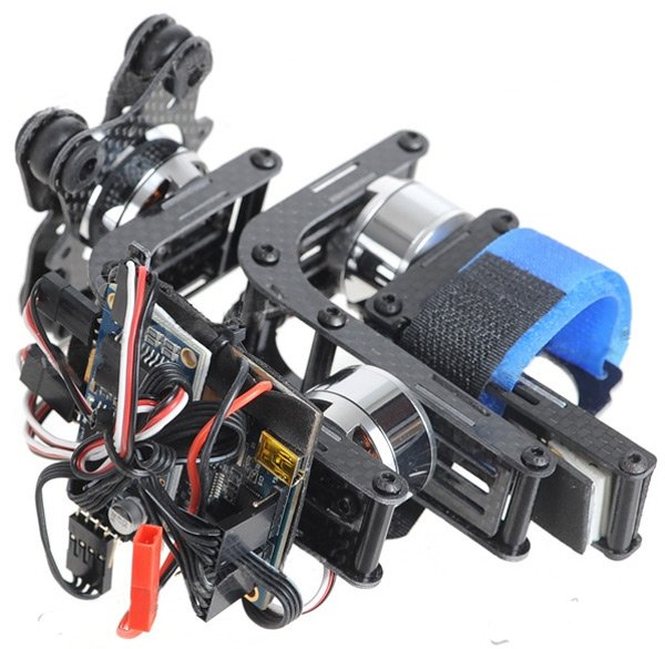 A typical Chinese 3-axis gimbal for the GoPro
