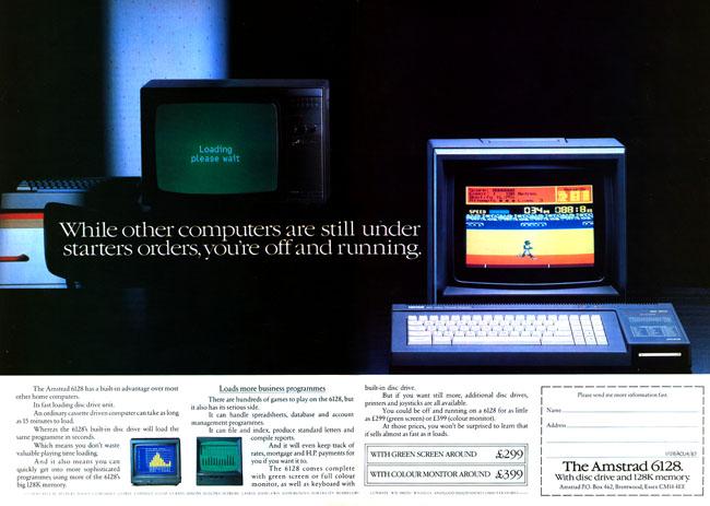 Amstrad CPC 6128 ad