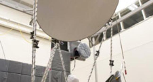 The GMI instrument under test