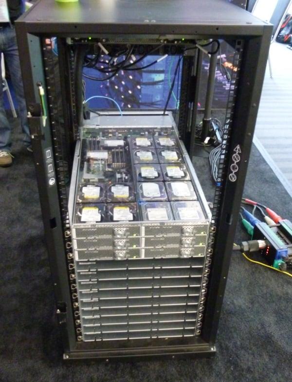 Microsoft JBOD OCP rack