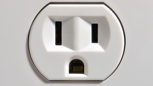 NEMA 5 plug socket