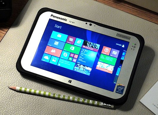 Panasonic Toughpad FZ-M1 ruggedised tablet