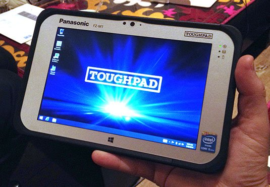 Panasonic Toughpad FZ-M1 ruggedised tablet