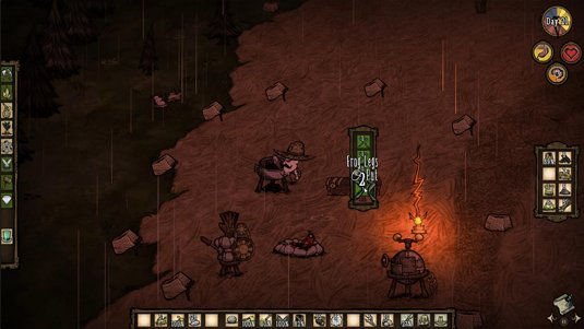 Don't Starve stating the obvious again