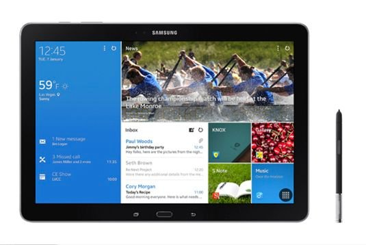 12.2-inch Samsung Galaxy Note Pro with S Pen