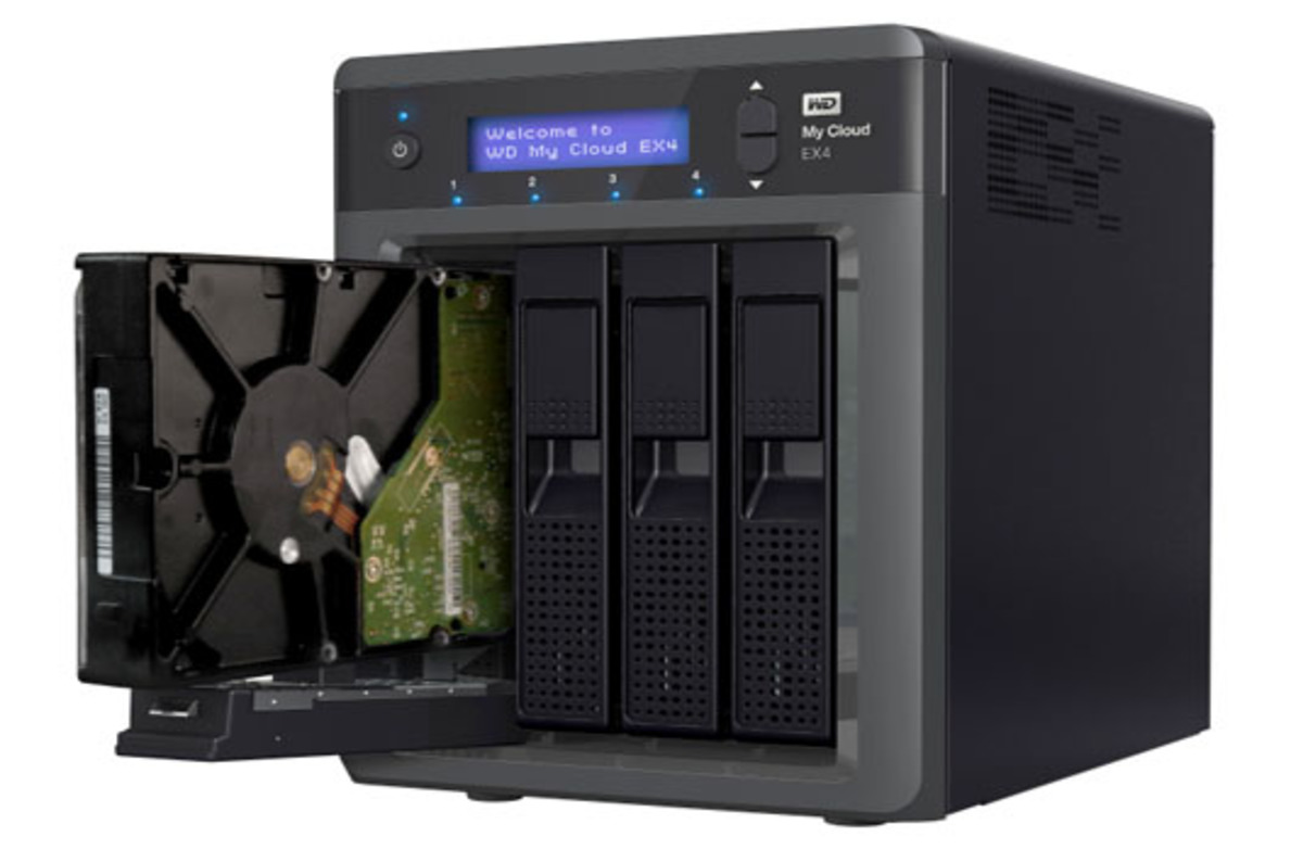Wd My Cloud Ex4 Four Bay Nas The Register