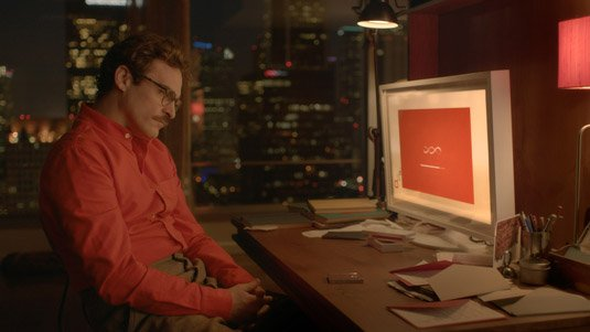 Her – OS One finds out about Theodore