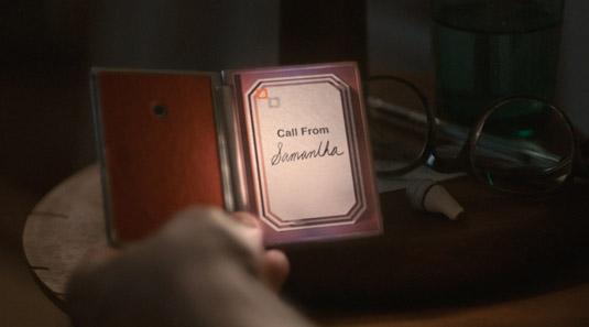 Call from Samantha