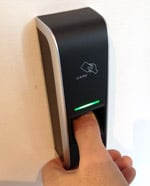 City Lifeline fingerprint scanner