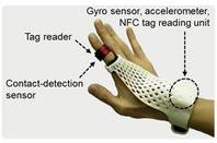 Fujitsu wearable glove smart device