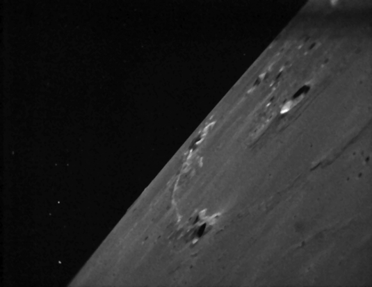 Ladee images of the Moon