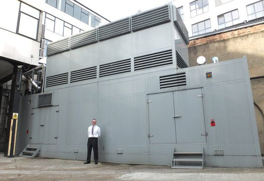 City Lifeline generator building