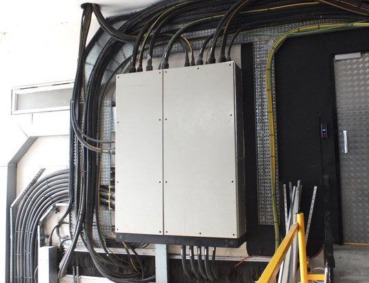 City Lifeline power distribution panels