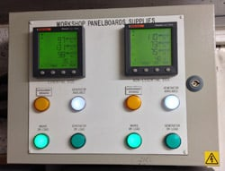 City Lifeline Switch Room panel supply metering