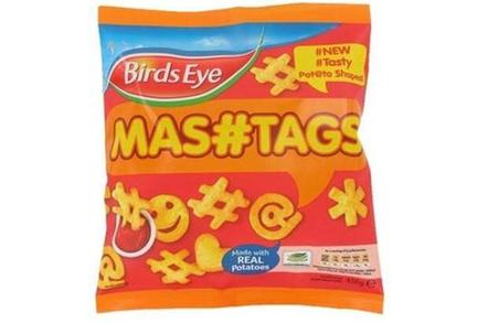 Birds Eye 'mashtag' snack