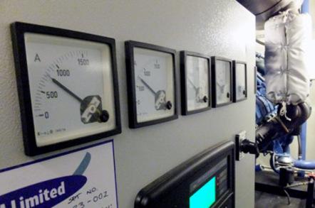 Generator output meters