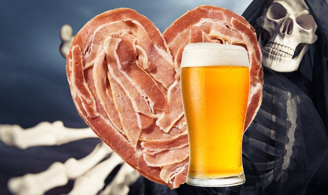 Beer, bacon and the Grim Reaper
